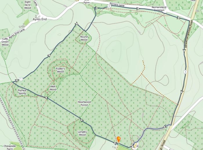 Stampede - Option A (3.9 miles)